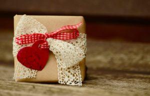 Cadeau, Boucle, Coeur, Anniversaire, Fête Des Mères