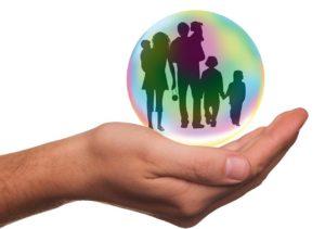 Assurance, Famille, Protection, Personnes, Protéger